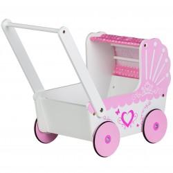 Drewniany Wózek dla Lalek Eco