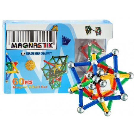 Klocki Magnetyczne 60 elementów MAGNASTIX