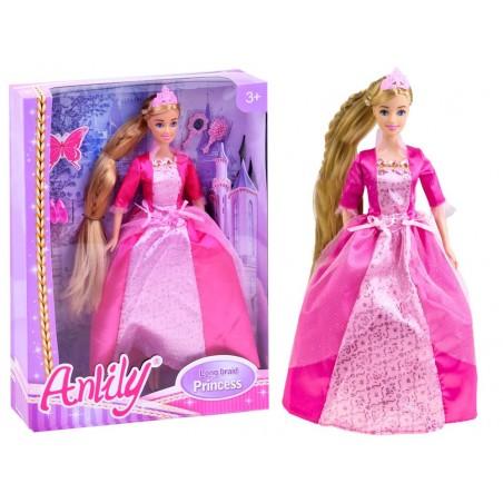 Lalka KSIĘŻNICZKA Anlily z długimi włosami