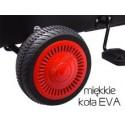 GOKART dla dziecka na miękkich kołach EVA