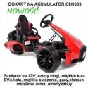 Szybki Gokart na Akumulator CH9939 Koła EVA