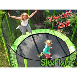 TRAMPOLINA SKYFLYER RING 2in1 304CM 10FT + Gratisy