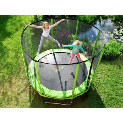 TRAMPOLINA SKYFLYER RING 2in1 304CM 10FT + Gratisy