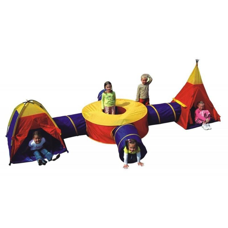 Zestaw namiotów dla dzieci 7w1