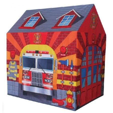 Namiot Domek Plac Zabaw dla Dzieci Straż Remiza