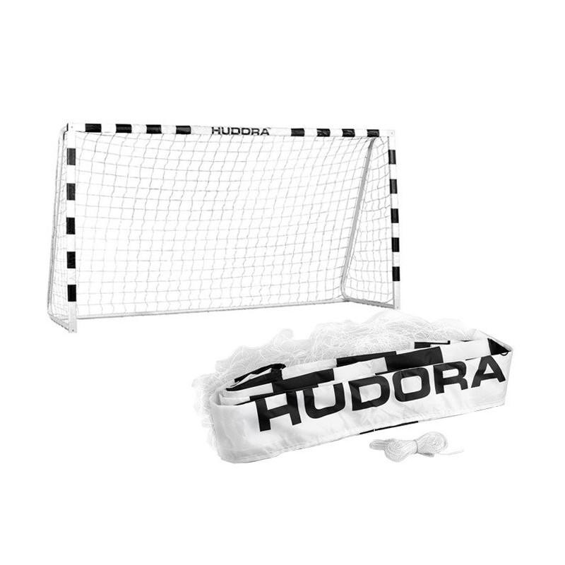 Siatka do bramki piłkarskiej Hudora 300x200x90 cm