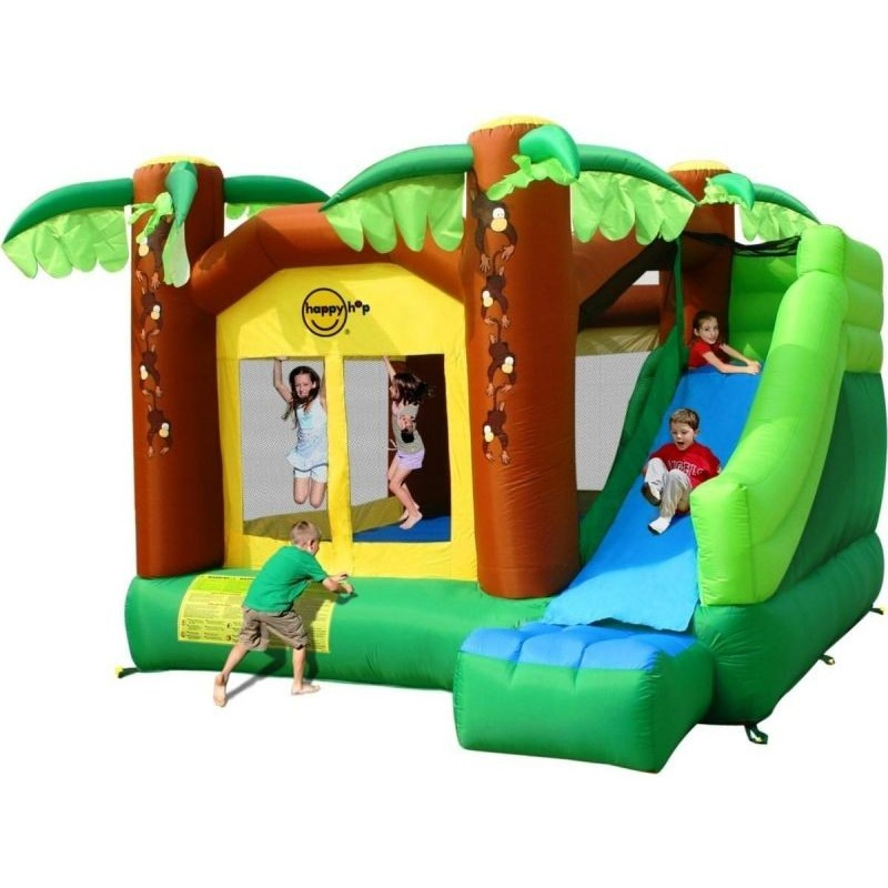 Zamek Dmuchany HappyHop Dżungla Małpki