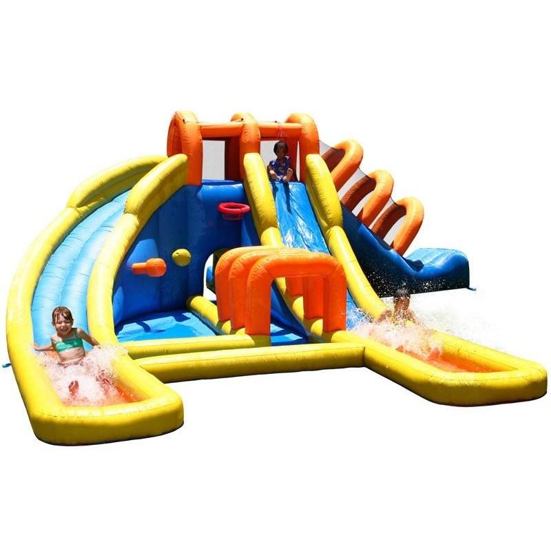 Mega Park Wodny - 3 Zjeżdżalnie Zamek Dmuchany HappyHop