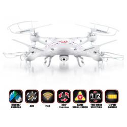 DRON QUADROCOPTER UFO SYMA X5C 2,4G + KAMERA HD