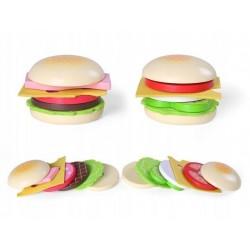 Drewniany hamburger