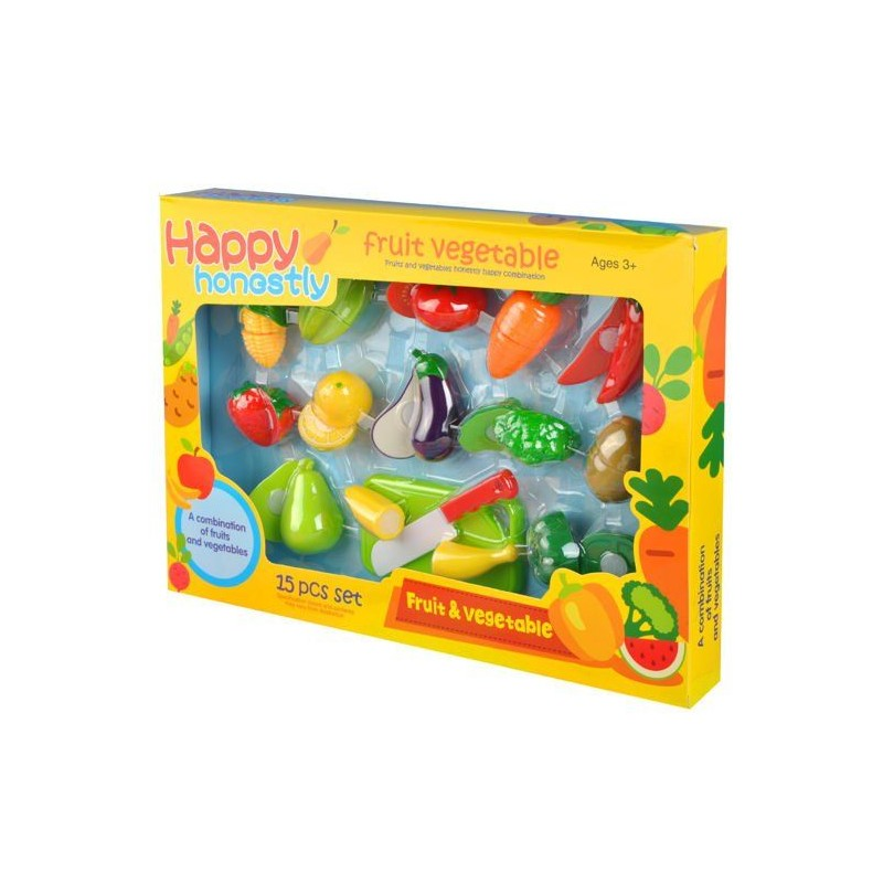 Warzywa i owoce na rzep + Deska do krojenia