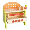 Warsztat dla chłopców drewniany - skrzynka 2w1