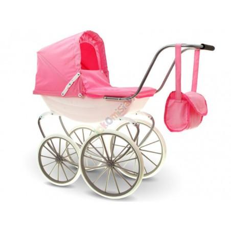 Śliczny Wózek Retro Gondola dla Lalki