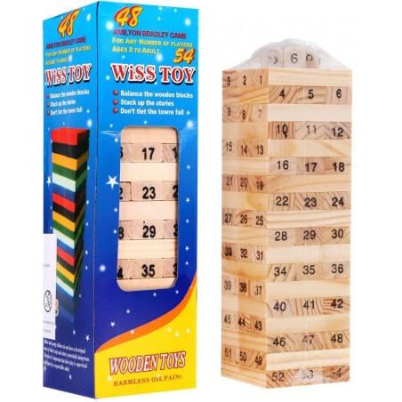 Drewniane Klocki JENGA Chwiejąca się Wieża