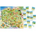 Puzzle Mapa Polski 100 el i quiz