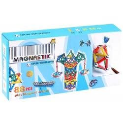 Klocki magnetyczne Magnastix 88 elementów