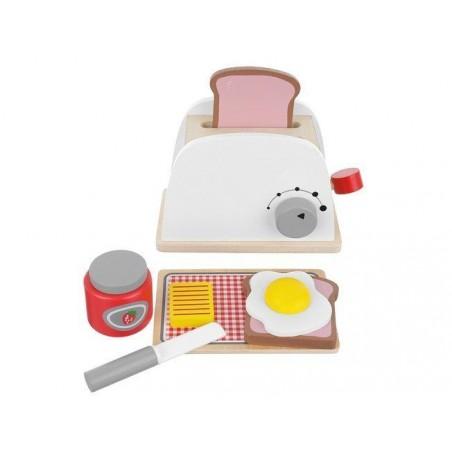 Toster drewniany zabawkowy dla dzieci