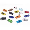 Autka Resoraki metalowe Zestaw 16 samochodów