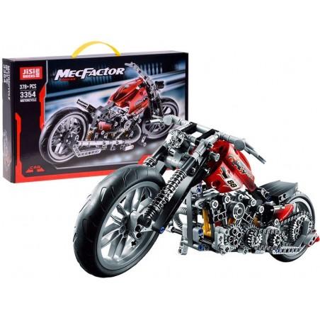 Kreatywne Klocki Motor Motocykl 378 el