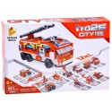 Klocki Auto Straż pożarna 12w1 561 el.