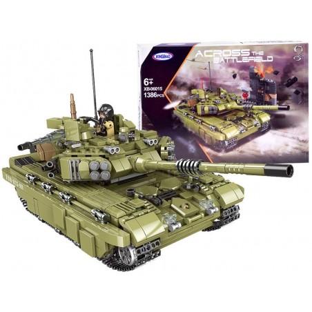 Klocki wojskowe Czołg Scorpio Tiger 1386 el.