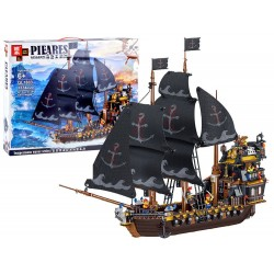 Klocki Czarny Statek Piracki 1334 el.