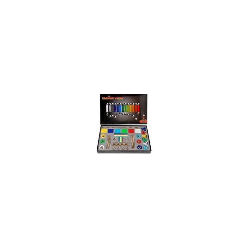 Klocki Magnetyczne MAGNASTIX 560el + tablica ZKL0004