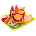 Fast food zestaw zabawkowy dla dzieci