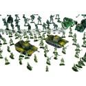 Baza wojskowa dla dzieci 300 el. - żołnierzyki