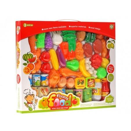 Artykuły spożywcze 52elementy owoce warzywa