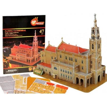 Puzzle 3D Bazylika w FATIMIE 47 el.