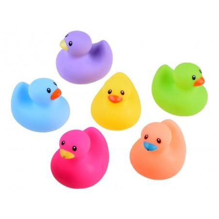 Kolorowe gumowe kaczuszki do kąpieli