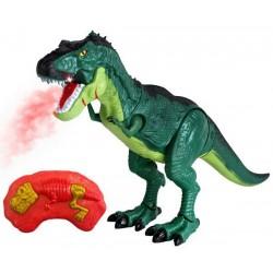 Dinozaur T-REX RC ziejący ogniem