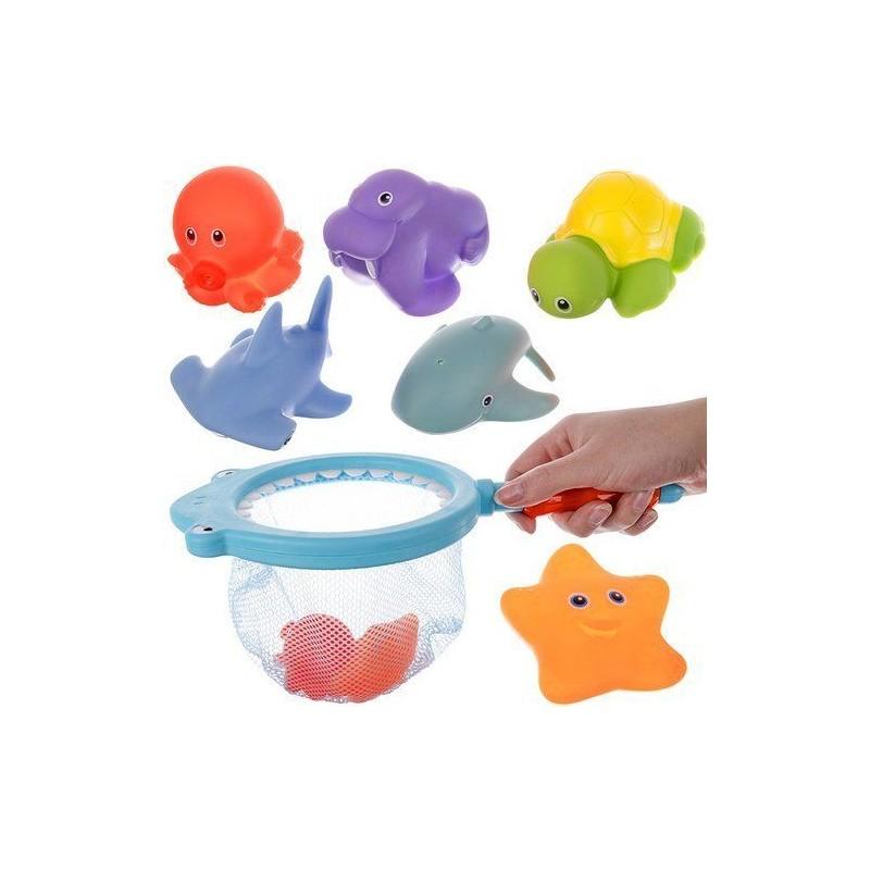 Rekin - zabawka do kąpieli + akcesoria
