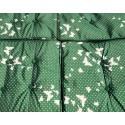 Huśtawka Ogrodowa Plecionka 2x1 w Motyle