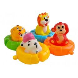 Zwierzątka na pontonach do kąpieli